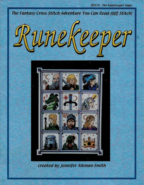 Dragon Dreams The Runekeeper Saga DD78 cross stitch pattern