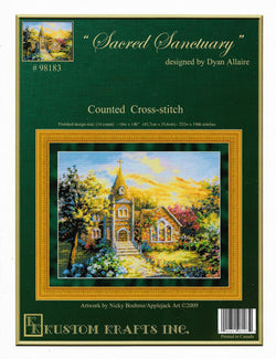 Kustom Krafts Sacred Sanctuary 98183 cross stitch pattern