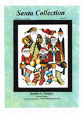 Bobbie G Santa Collection MS397 Christmas cross stitch pattern
