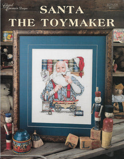Carol Emmer Designs Santa the Toymaker cross stitch pattern