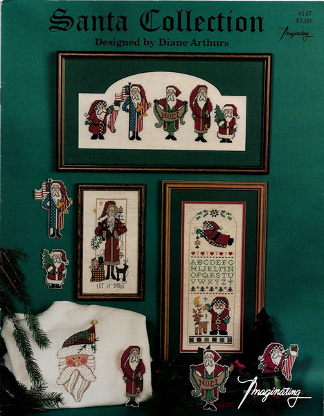 imaginating Santa Collection christmas cross stitch pattern