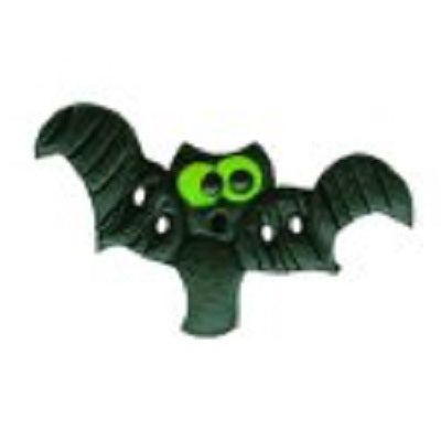 Stoney Creek Green Eye Itty Bitty Bat SB441G button