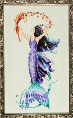 Mirabilia Sea Flora NC194 Petite Mermaids victorian cross stitch