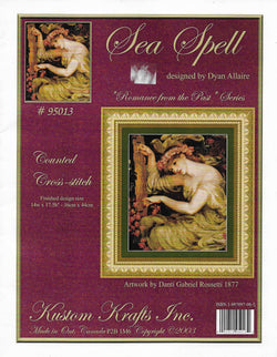 Kustom Krafts Sea Spell 95013 cross stitch pattern