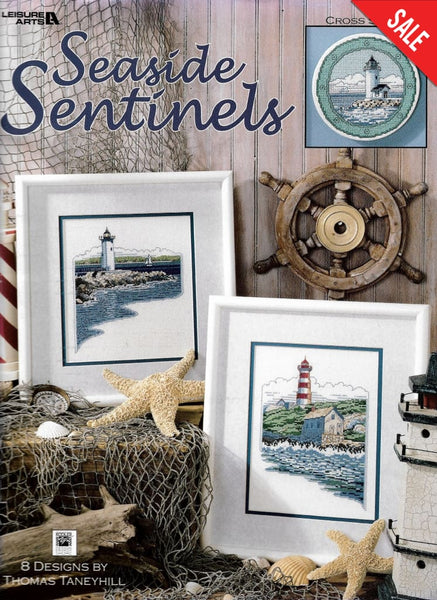 Leisure Arts Seaside Sentinels 3245 lighthouse cross stitch pattern