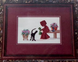 Diane graebner See My Dolly DGX-031 Amish Cross stitch pattern
