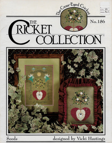 Cricket Collection Seeds CC186 gardening cross stitch pattern