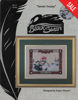 Black Swan Seven Swans BS-27 Cross Stitch Pattern