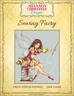 Shannon Christine Designs Sewing Fairy cross stitch pattern