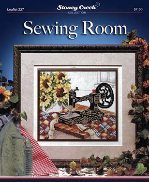 Stoney Creek Sewing Room LFT227 cross stitch booklet