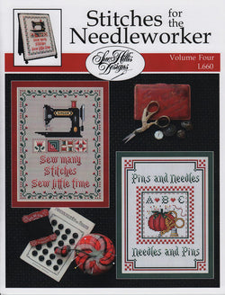 Sue Hillis Stitches for the needleworker #4 cross stitch pattern