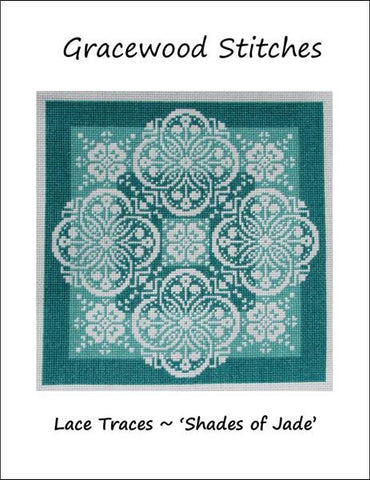 Lace Traces~Shades of Jade pattern
