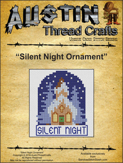 Silent Night Ornament pattern