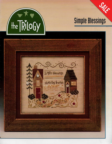 Triology Simple Blessings cross stitch pattern