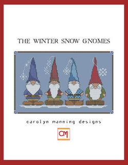 Carolyn Manning Winter Snow Gnomes Cross stitch pattern