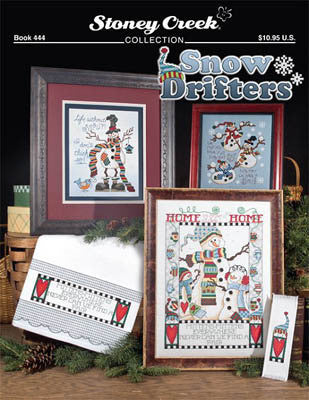 Stoney Creek Snow Drifters BK444 cross stitch pattern