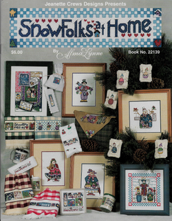 Jeanette Crews Designs Snowfolks at Home 22139 cross stitch pattern