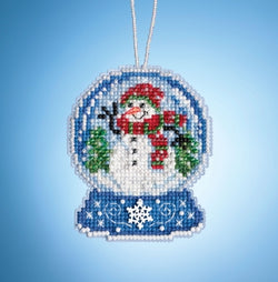 Mill Hill Snowman Globe beaded kit 16-1933