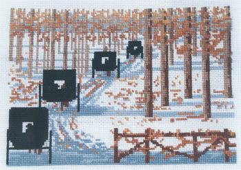 Diane Graebner Snowy day DGX-180 cross stitch pattern