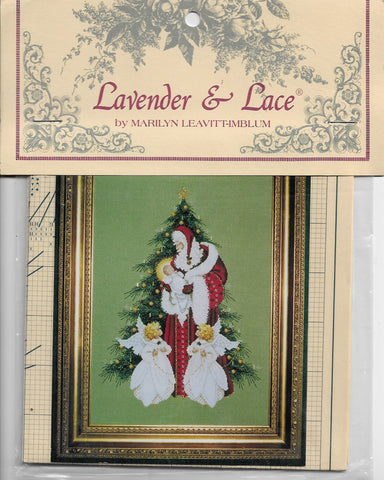 Lavender & Lace Song of Christmas L&L46 cross stitch pattern