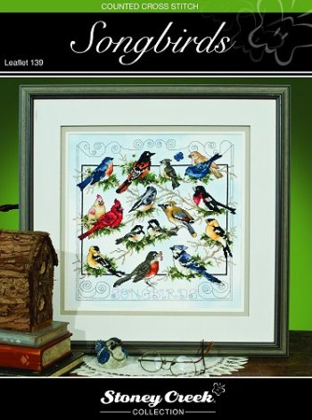 Stoney CreekSongbirds LFT139 cross stitch booklet