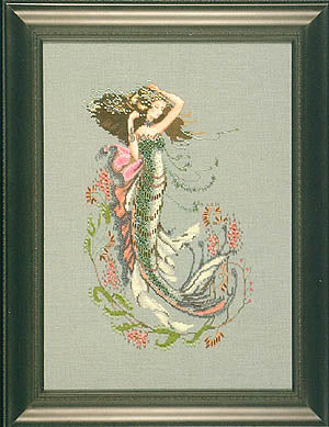 Mirabilia South Seas Mermaid MD-92 Victorian cross stitch