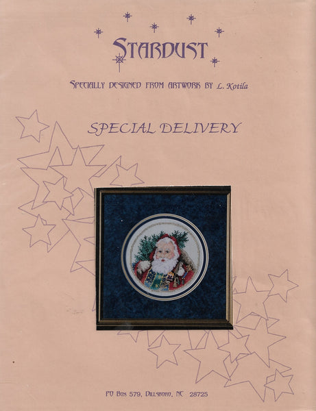 Stardust Special Delivery Christmas cross stitch pttern