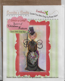 Brookes Books Spirit of Christmas Future cross stitch ornament pattern