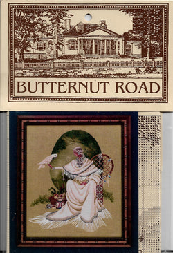 Butternut Road Spiritdancer Native American cross stitch pattern