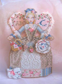 Spirit of Cross Stitch Angel Ornament pattern