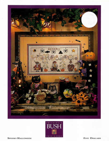 Shepherds Bush Spooky Halloween cross stitch pattern