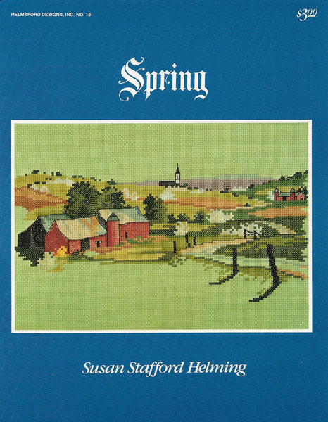 Helmsford Designs Spring cross stitch pattern