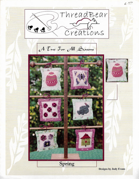 ThreadBare Creations Spring ornament cross stitch pattern