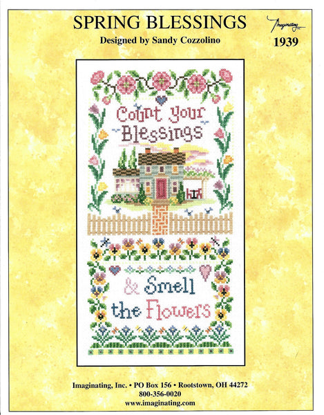 Imaginating Spring Blessings 1939 cross stitch pattern