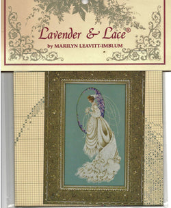 Lavender & Lace Spring Bride L&L55 cross stitch