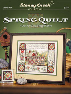 Stoney Creek Spring Quilt LFT151 cross stitch booklet