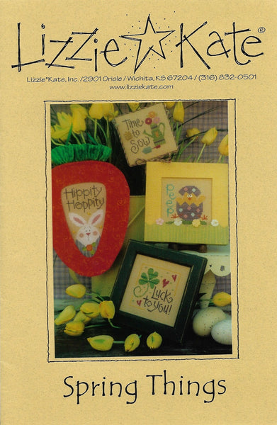 Lizzie Kate Spring Things LK122 cross stitch pattern