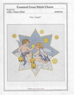 Ellen Maurer-Strohs Star Angels EMS044cross stitch pattern