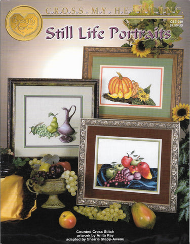 Cross My Heart Still Life Portraits CSB-259 fruits cross stitch pattern