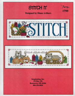 Imaginating Stitch It cross stitch pattern
