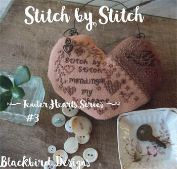 Blackbird Designs Stitch by Stitch cross stitch pattern