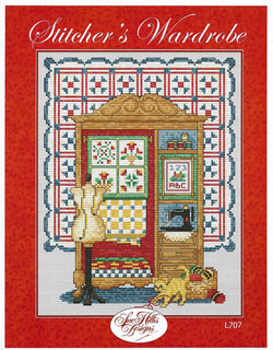 Sue Hillis Stitcher's Wardrobe L707 cross stitch pattern