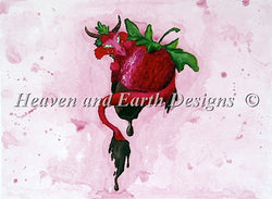 Sugar Wyrm Strawberry pattern