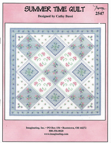 Imaginating Summer Time Quilt 2547 cross stitch pattern