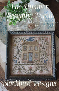 Blackbird Designs The Summer Beaming Forth cross stitch pattern