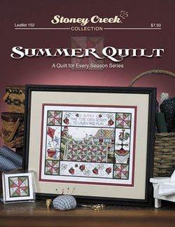 Stoney Creek Summer Quilt LFT152 cross stitch booklet