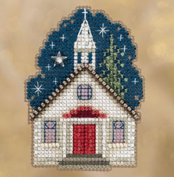 Mill Hill Sunday Night church beaded kit