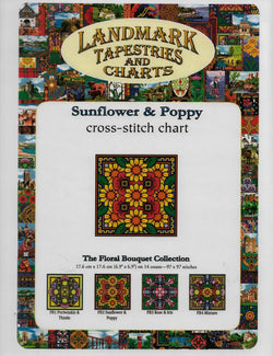 Sunflower & Poppy pattern