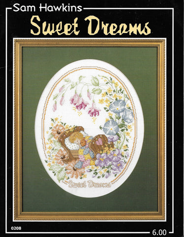 Sam Hawkins Sweet Dreams baby cross stitch pattern