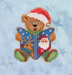 Mill Hill Teddy's Tale beaded cross stitch kit
